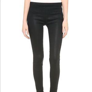 J Brand Black Fearless Side-zip Leggings!